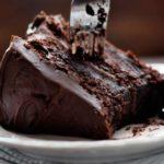 Bolo de chocolate com café prático e fácil
